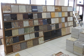 We stock all types of floor, wall, counter tile and granite-slab  countertops-everything you need to create the perfect project